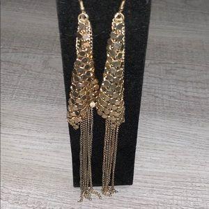 [ Bebe ] chandelier earrings